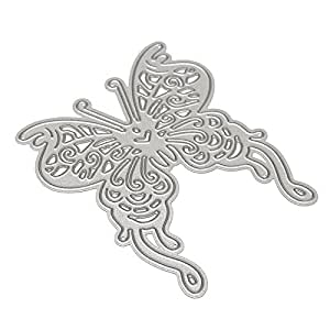 Raza Cute Butterfly Cutting Dies Template For Scrapbooking Album Photo Embossing Folder Decoration DIY Paper Decorative Metal Cards