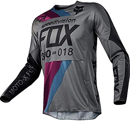 Fox Jersey 360 draftr, Charcoal, tamaño S: Amazon.es: Coche ...