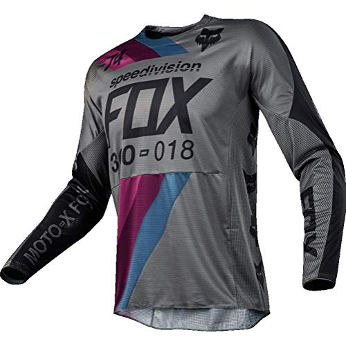 Fox Racing 360 Draftr Mens Off-Road Jersey - Blue / Large