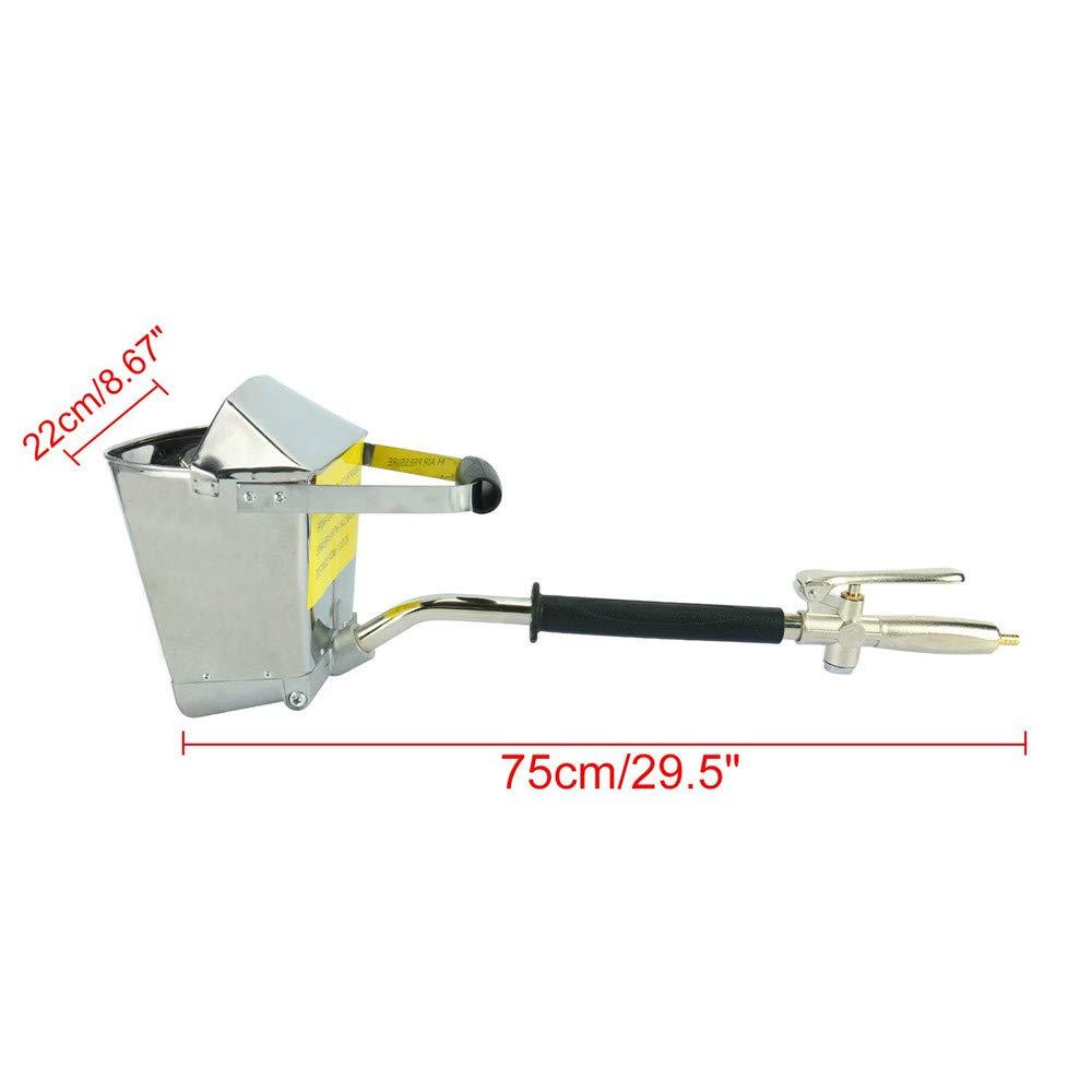 HUKOER 4 Jets Pulverizador profesional neumático para pintar paredes o techos: Amazon.es: Bricolaje y herramientas