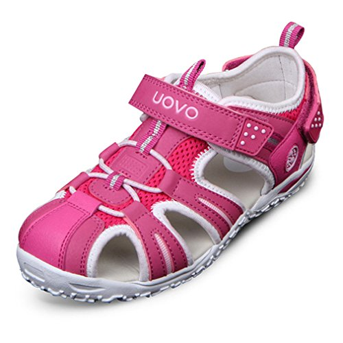 UOVO Kids Sport Sandals Boys Girls Breathable Closed-Toe Sandals Athletic Sneakers (Little Kid/Big Kid)
