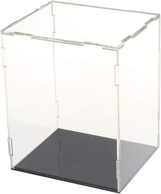 Toygogo Vitrina De Acrílico Transparente Anti-Polvo Caja De ...
