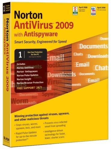 Norton Antivirus 2009  Old Version