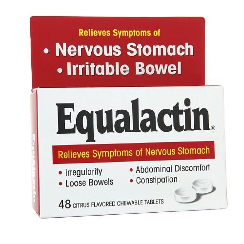 Equalactin Laxative Chewable 48 Tablets by Numark