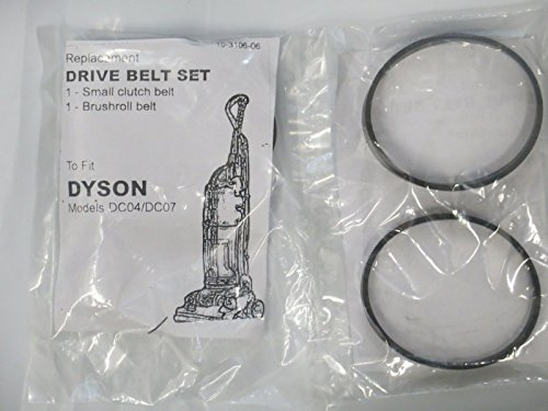 FYL Dyson DC07 DC04 DC14 Clutch model set of 2 belts (Dyson Vacuum Dc14 Belt compare prices)