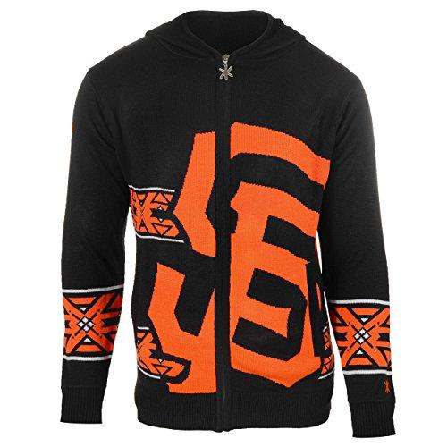 (San Francisco Giants Full Zip Hooded Sweater Medium)