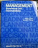 Management : Experiences and Demonstrations, Tosi, Henry L. and Young, Jerald W., 0256027641