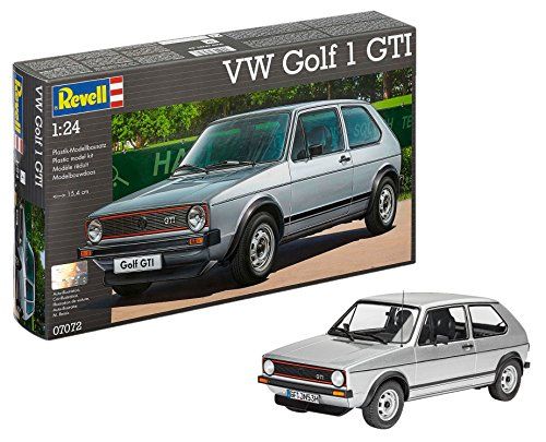 Revell 1: 24 Scale VW Golf 1 GTI Model Kit from Revell