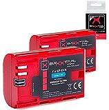 2X Baxxtar Pro Qualitätsakku für Canon LP-E6N (Echte 2040mAh) mit Infochip - Intelligentes Akkusystem Für Canon XC10 XC15 EOS 60D 70D 80D 5D Mark I II III IV 6D 7D Mark I II