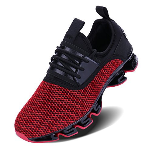 JointlyCreating Men's Casual Sneakers Lightweight Walking Shoes Fashion Breathable Mesh Sport Running (Lightweight Walking Shoes)