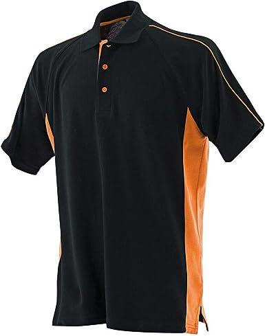 Finden /& Hales Men/'s Sports Polo Shirt T-shirt 100/% Cotton Sports Team Wear New