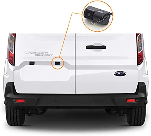 Vardsafe VS302K Replacement Rear View Backup Camera 7 Inch Clip-on Mirror Monitor for Ford Transit Connect 2010-2018