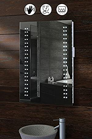 My furniture opticon illuminated led bathroom mirror amazon my furniture opticon illuminated led bathroom mirror amazon kitchen home aloadofball Image collections
