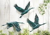 Birds In Flight Metal Wall Decor – Set Of 3