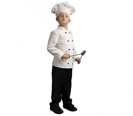 fair Costume Carnevale Gran Chef Travestimento Unisex Bambini Cuoco  ShopOnline (9-11 anni) 78ef6c5c7a49