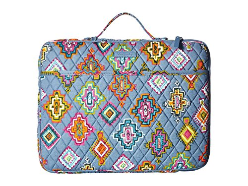 (Vera Bradley Women's Laptop Organizer Painted Medallions Signature Cotton)