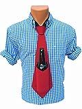 The Original Bev Tie - Hands Free Drink Holder - Beer Tie (Red)