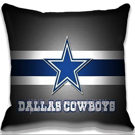 Personalized Home Decorative Throw Pillow Case With Hidden Zipper Beauteous Dallas Cowboys Decorative Pillow