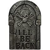"Forum Novelties 27 Inch Lightweight Foam Tombstone Prop ""I'll Be Back"""