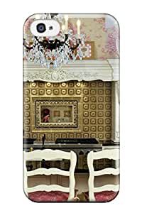 Awesome IiexVEx8059mKrHP ZippyDoritEduard Defender Tpu Hard Case Cover For Iphone 4/4s- Gold Backsplash Kitchen With Floral Accents