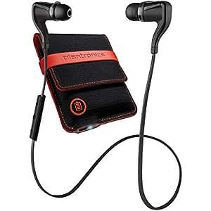 Plantronics BackBeat Go 2 Wireless Earbud Headphones with Charging Case for Smartphones - Black (Certified Refurbished)