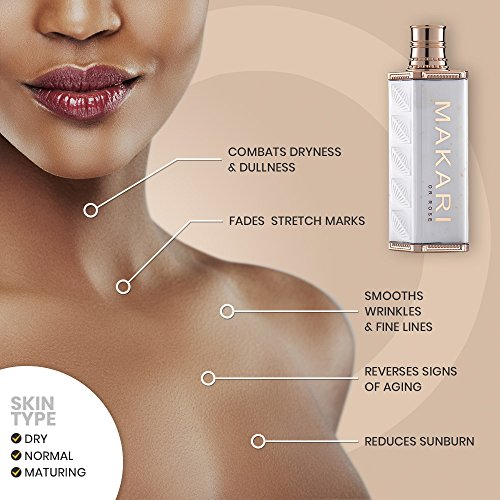 51Um4SB7onL - Makari 24K Gold Beauty BODY Milk Lotion - Powerful Anti-Aging Body Lotion w/Real Gold Particles, Omega 3 & Active Probiotics for Wrinkles, Dark Spots & Blemishes - Luxurious Moisturizing Formula