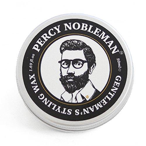 Cheveux & barbe cire par Percy noble