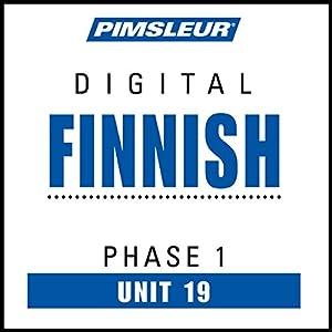 Finnish Phase 1, Unit 19 Audiobook