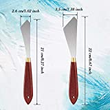 6 Pieces Painting Scraper Knife Stainless Steel