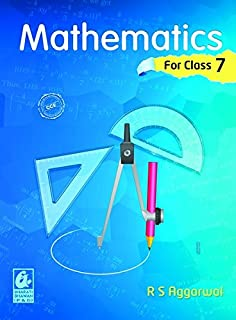 mathematics for class 7 by r d sharma 2018 19 session amazon in rh amazon in Social Studies Book 7th Grade Seventh 7th Grade