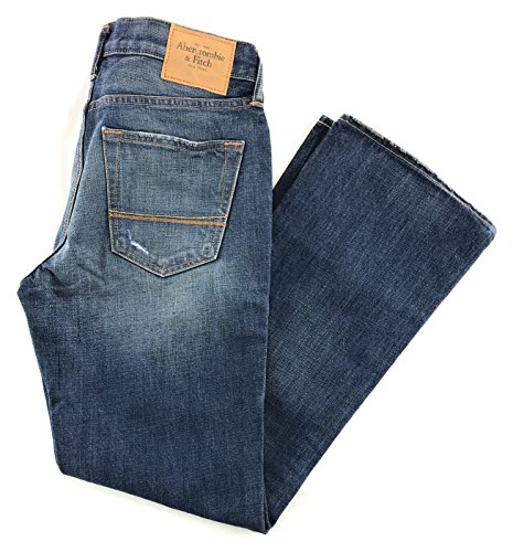 Abercrombie & Fitch Mens Boot Cut Jeans