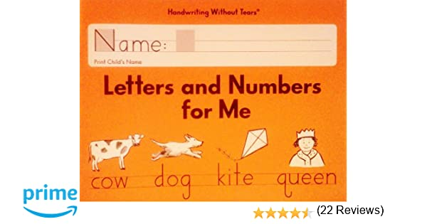 Letters and Numbers for Me Grade K: Jan Z. Olsen: 9781934825563 ...