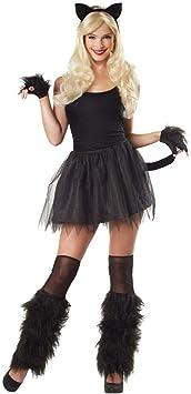 Horror-Shop Disfraz de gato Set 4 piezas: Amazon.es: Juguetes y ...