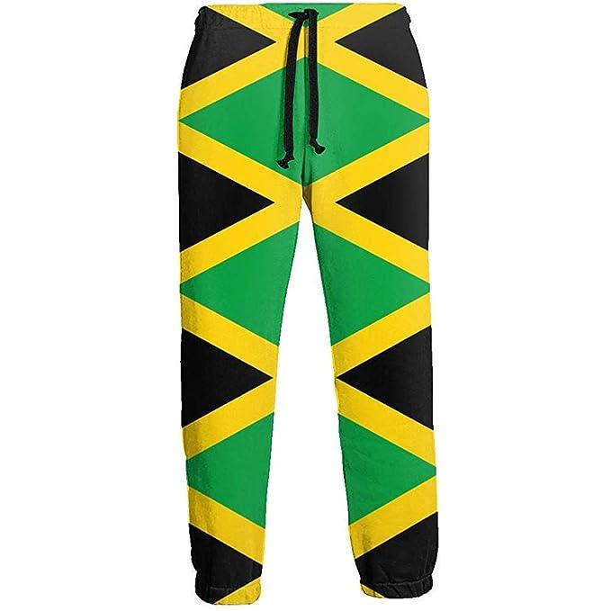 NA Jamaica Flag Pantalones de chándal Largos para Hombre ...