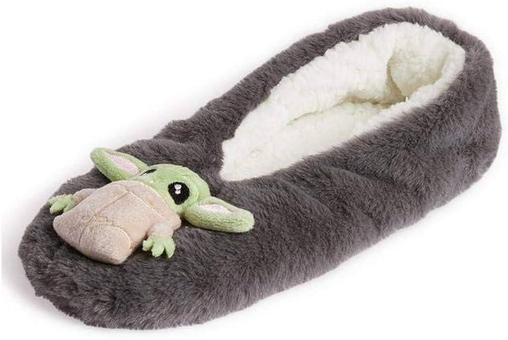 Star Wars Baby Yoda Women/'s Footlet Ladies Cosy Slipper Socks Xmas Gift PRIMARK