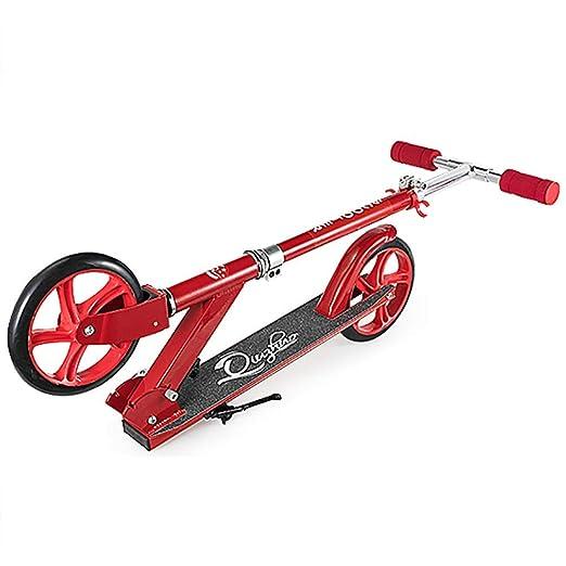 CRHBC Scooter Rojo para niños de 8 años en adelante ...