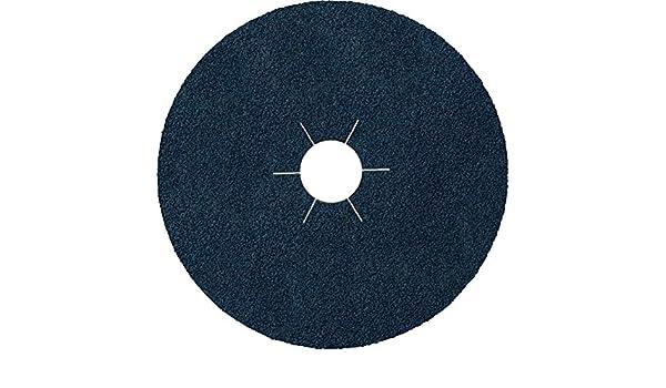 Lote de 25 discos de fibra Klingspor CS 565 180 x 22 mm, grano 80