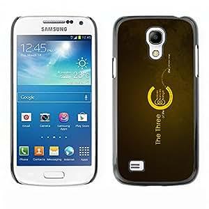 EJOY---Cubierta de la caja de protección la piel dura para el / Samsung Galaxy S4 Mini i9190 / --Los tres de la Vida