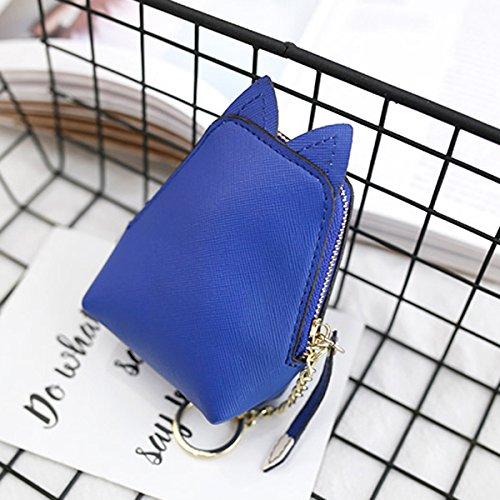 Blue Donne Dell'unità Gatto Royal Delle Borsa Animale Taihang Del Elaborazione Color Gattino Della Di Moneta Raccoglitore Forma OqnxwaHC