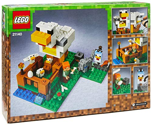 51Um7lCY20L - LEGO Minecraft The Chicken Coop 21140 Building Kit (198 Pieces)