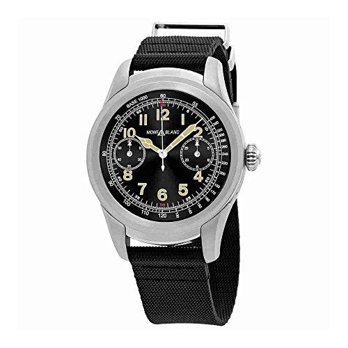 Montblanc Summit Black Dial Mens Smart Watch 117529 (Montblanc For Watches Men)