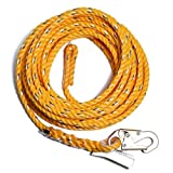 Guardian Fall Protection 01350 VL58-75 Standard 5/8 Inch Thick Rope with Snaphook End, 75-Foot