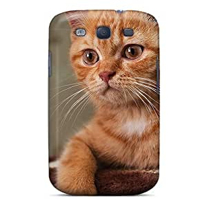 Awesome Design Cat Surprise Hard Case Cover For Galaxy S3