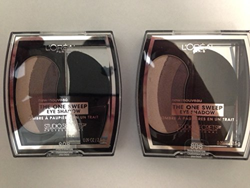 2 Pack- L'Oreal The One Sweep Eye Shadow
