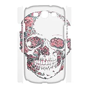 Personalize Roses skeleton Cell Phone case Samsung Galaxy S3 I9300,Cover for Samsung Galaxy S3 I9300,Custom Roses skull Cover Case for Samsung Galaxy S3 I9300 moye-9773826 at monye.