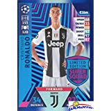 Cristiano Ronaldo 2018/2019 Topps Match Attax Champions League EXCLUSIVE Super Squad Limited Edition Card! MINT Condition in Ultra Pro Top Loader! FIRST EVER Special Card in Juventus Uniform! WOWZZER!