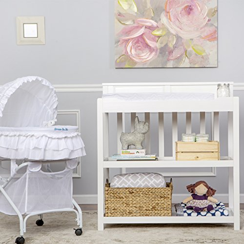 Dream On Me Zoey 3 in 1 Convertible Changing Table (Storage Me On Bed Dream)