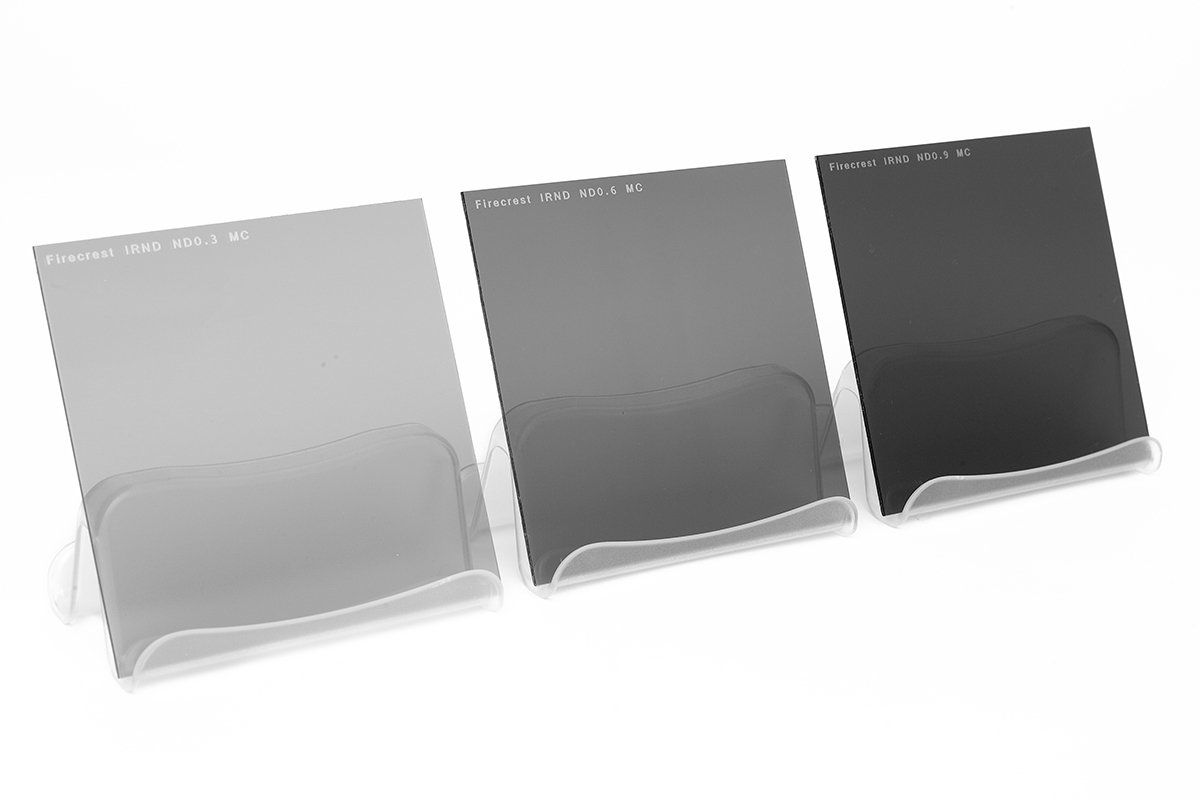 100x100mm Firecrest Neutral Density Kit of 3 filters 1 to 3 stops