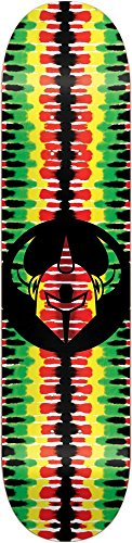 Dark Star 10012515 Badge Deck, Rasta, Size - Darkstar Decks
