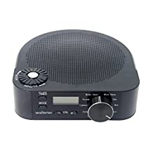 Signstek Sleep Sound Therapy System with White Noise and Natural Relaxing Sounds to Help You Sleep Easy and White Noise Machine (Version 1)